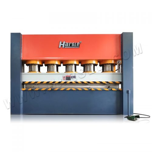 Metal frame embossing machine from HARSLE