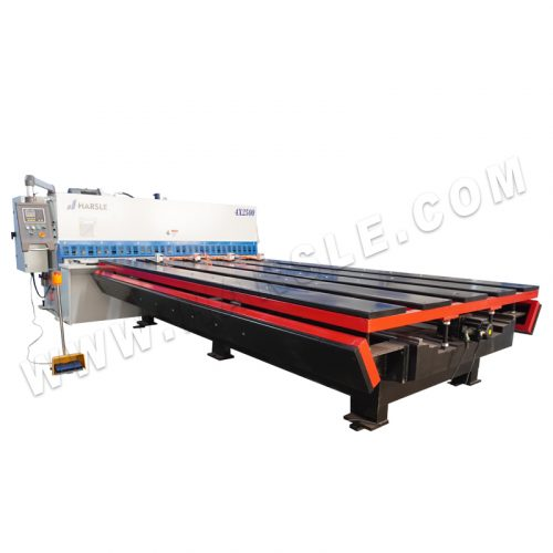 HARSLE cutting machine 4x2500mm with E200PS controller