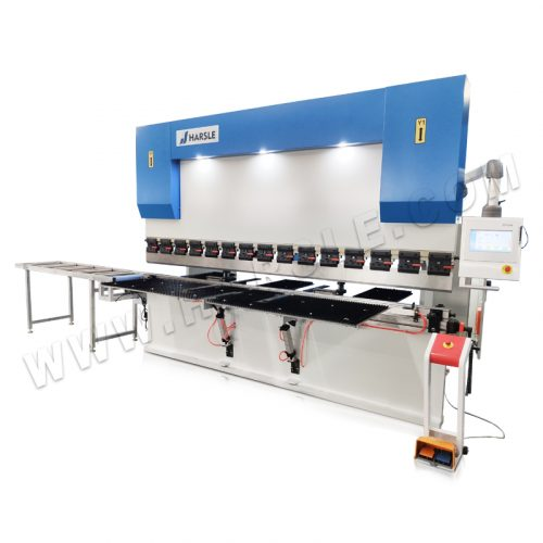 CNC Torsion Bar press brake with TP10S controller with cable tray
