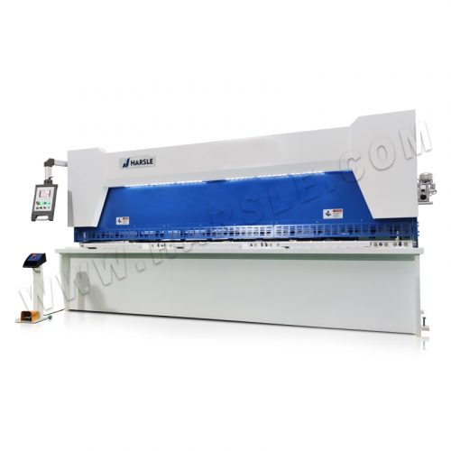 CNC guillotine shearing machine with P40T controller from China