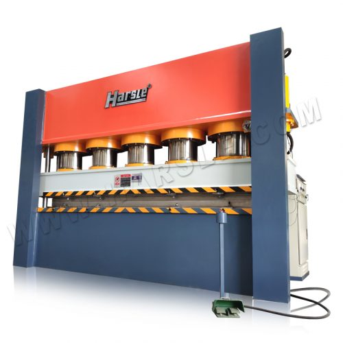 Frame Type Door Embossing Machine, designed by ANSYS software, 15mm skin mold